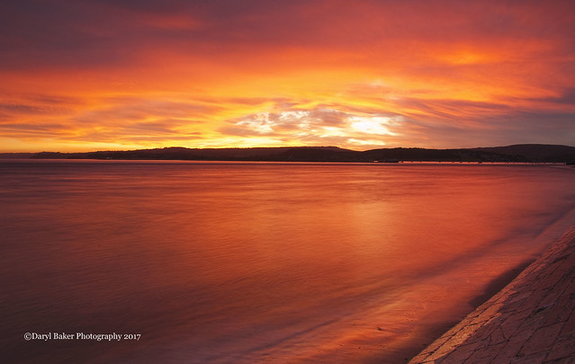 Sunset Exmouth