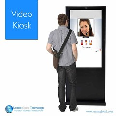 The #Video #Kiosk allows users to give their #feedback 'in the moment' and provide an #additional, #valuable tool to #complement other #feedback #channels. #TucanaGlobalTechnology #Manufacturer #HongKong