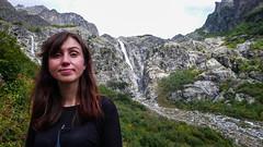 Wodospady w Mazeri. Monika.