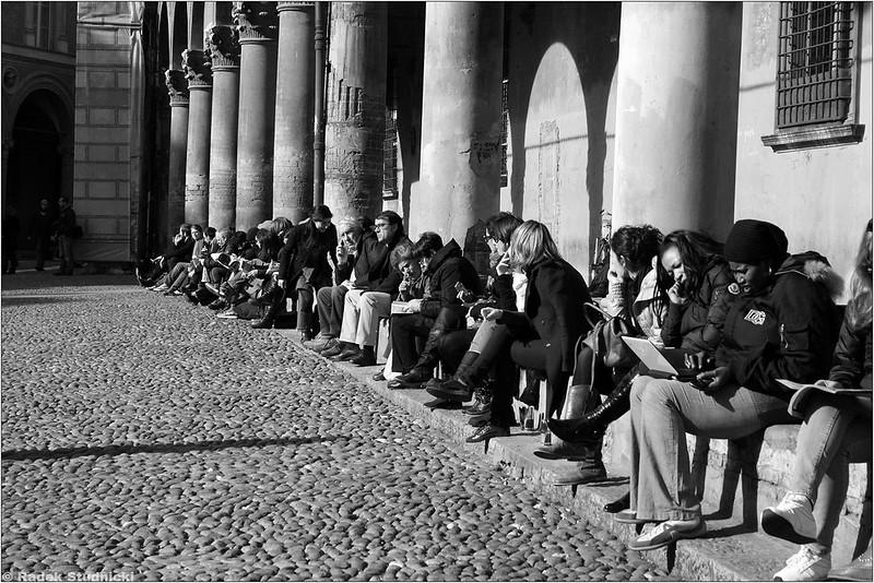 Piazza Santo Stefano w Bolonii