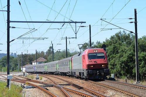 Santa Comba Dao ( district de Viseu ) IC 511 Lisboa St Apolonia - Guarda , serie CP 5607