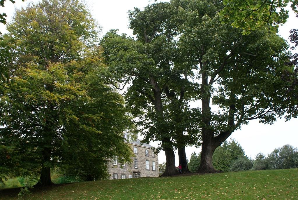 Un des batiments du jardin botanique d'Edimbourg.