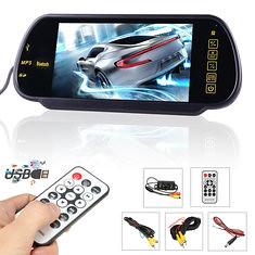 7 Inch LCD Mp5 Bluetooth Reversing Camera Car Rear View Parking Mirror Monitor (1126136) #Banggood