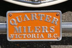 Ford club plate