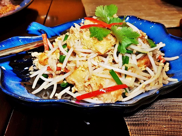 Fried Fish Maw With Bean Sprouts