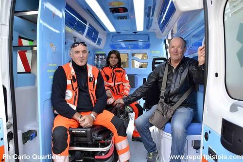 Inauguazione 8 nuovi mezzi della Croce Verde foto di Carlo Quartieri