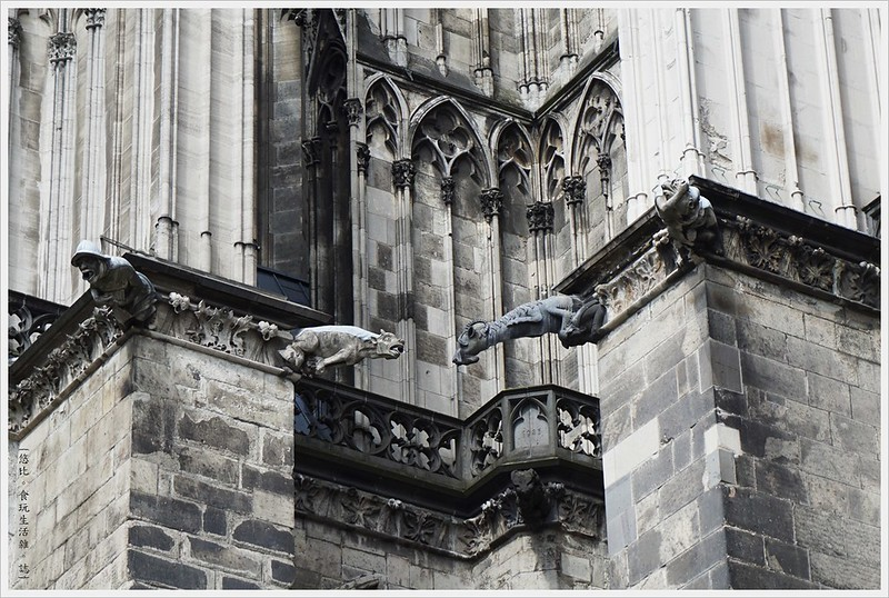科隆大教堂-15-排水口