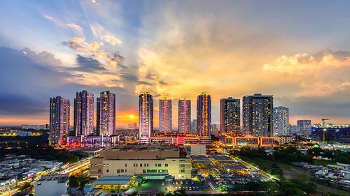 Sunrise City @ sunset