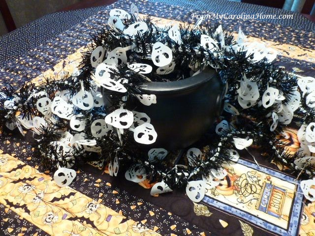 Halloween Tablescape at From My Carolina Home