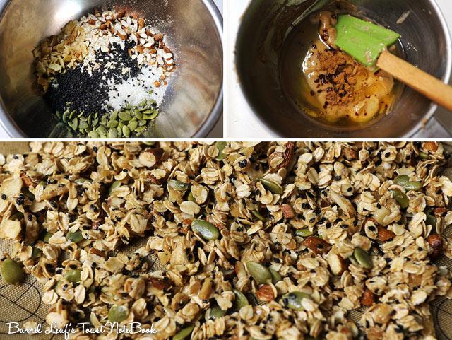 純素花生醬燕麥穀片 Vegan Peanut Butter Granola (1)