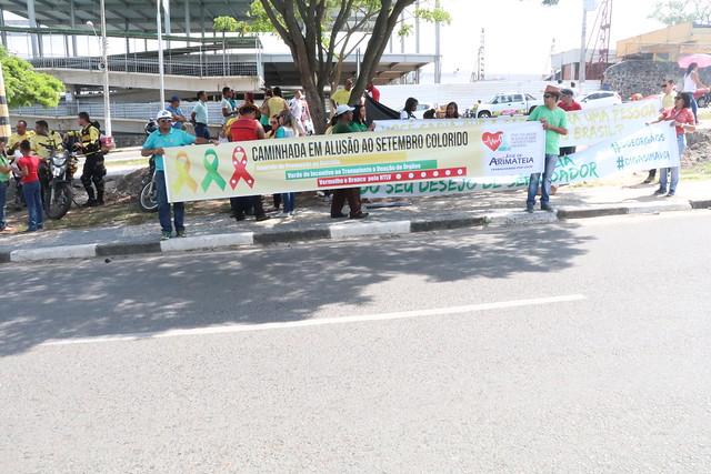 30-09-2017 Caminhada em Alusão ao Setembro Colorido em Feira de Santana