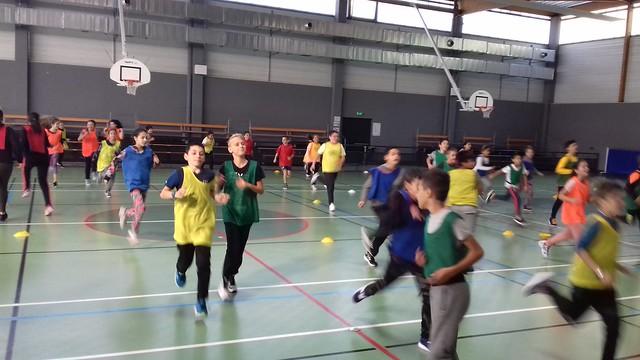Tournoi interclasses au collège Massenet-Fourneyron