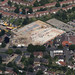 Construction of new Lidl store on Aylsham Road in Norwich - aerial