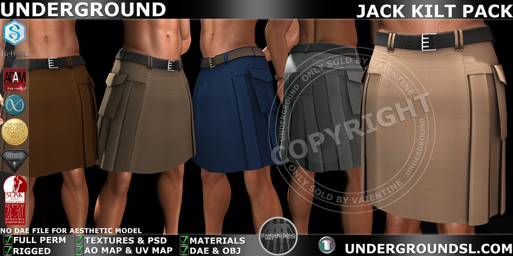 UG MESH JACK KILT PACK MP