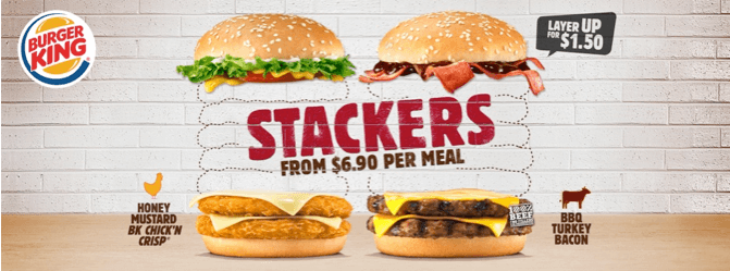 Burger King Stackers