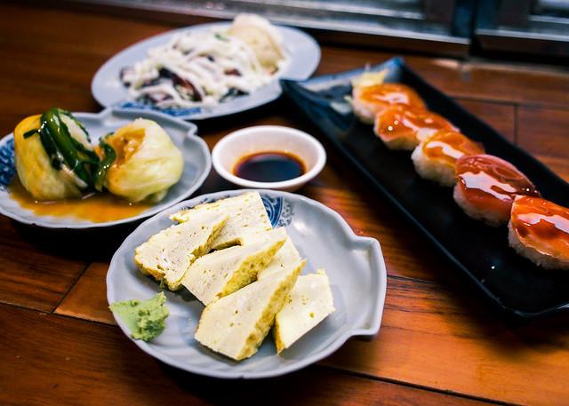 王將壽司|花蓮市區-深夜人氣宵夜攤車/半夜吃握壽司
