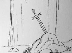 #InkTober day 6, 'Sword'