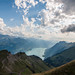 View of the Lake of Brienz