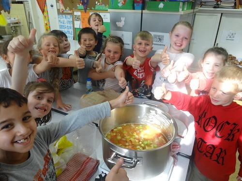 L2B maakt soep