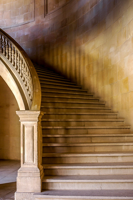 Staircase   The Alhambra   Andalusia   Spain