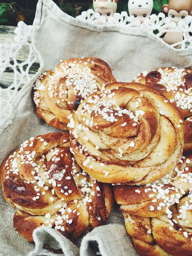 vegan cinnamon buns, october 2017 (kanelbullens dag)