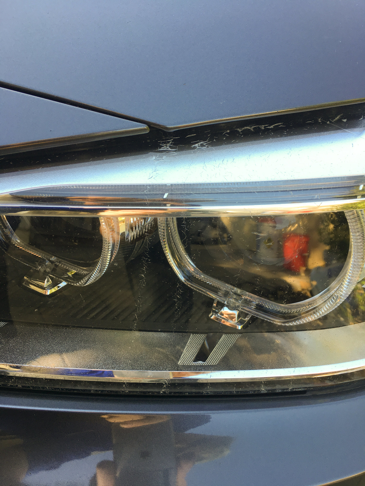 Cracks on headlights both sides, Does warranty cover?