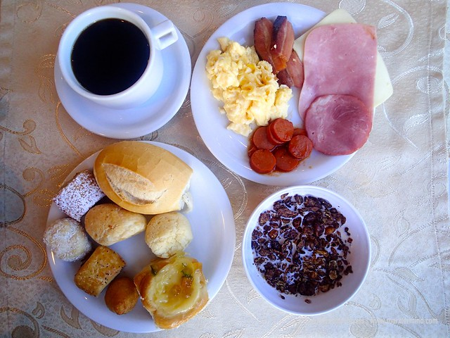 My Breakfast at Hotel Continental Inn Foz do Iguacu