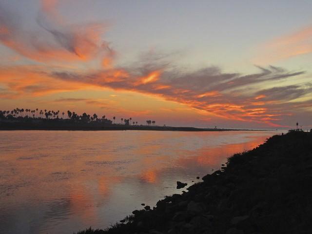 OB sunset...