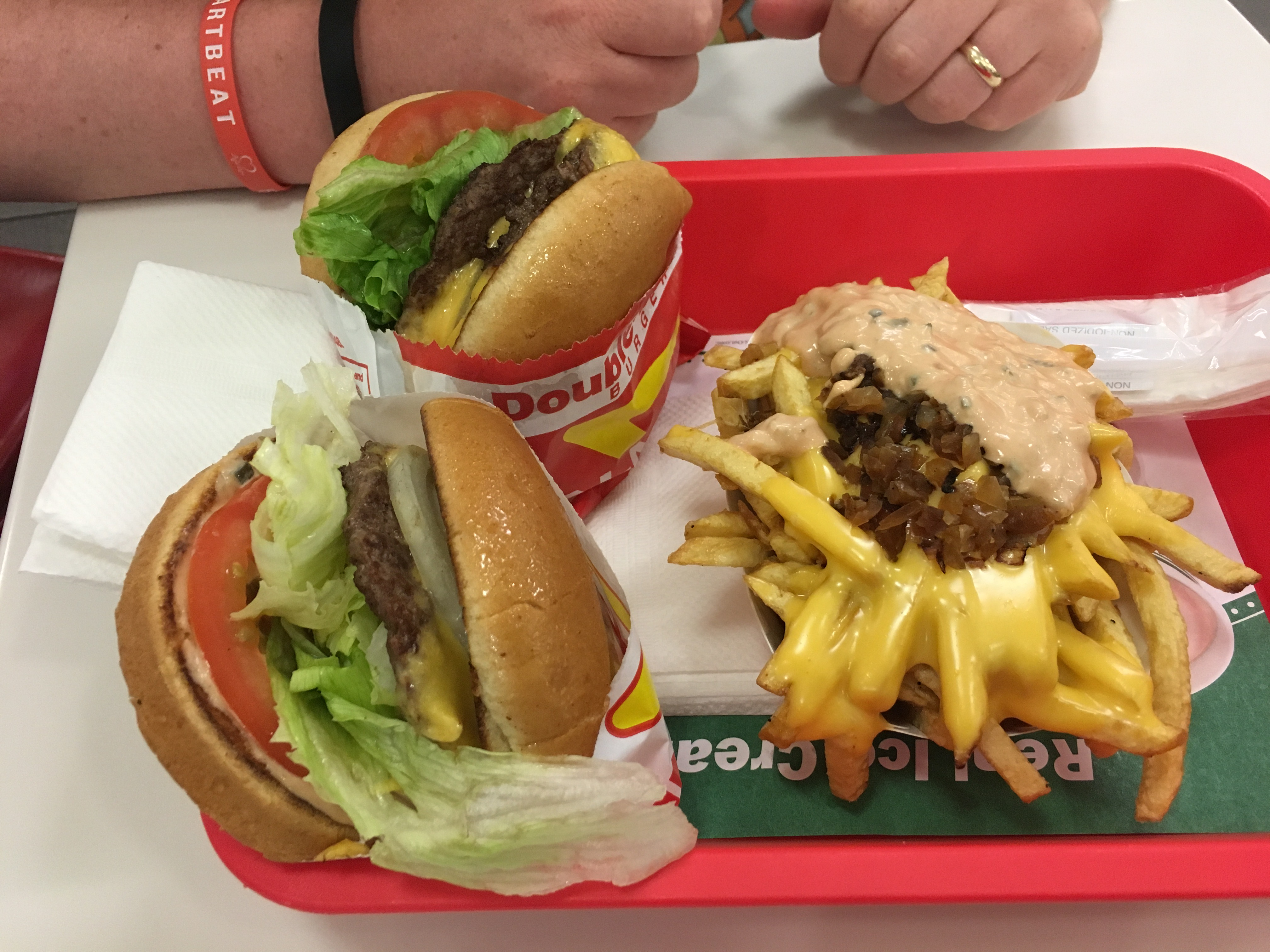 Los Angeles Food - in n out burger