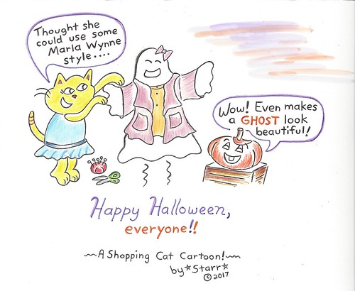 ShoppingCatHalloween