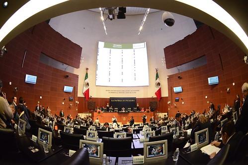 Sesión Ordinaria Senado de la República 17/oct/17