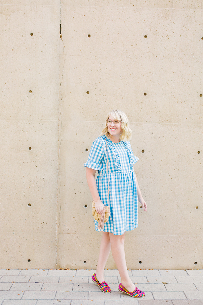 austin fashion blogger writes like a girl asos gingham dress1