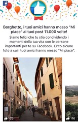 Thanks to everyone for 11.000 like on #Facebook 🎉🔝 #thanks #like #follow #share #comment #borghetto #montalcino #tuscany #italy #travel #discover #enjoy 😊