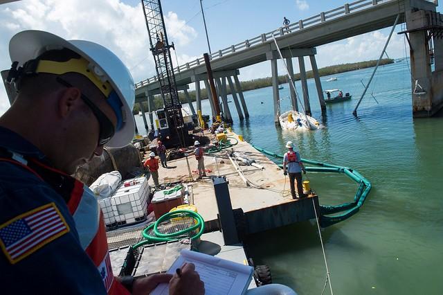 Florida Keys Vessel Removal Operations