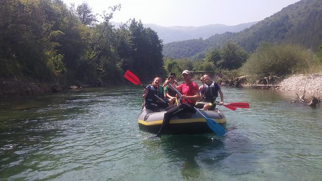 Let's raft down on the Neretva river
