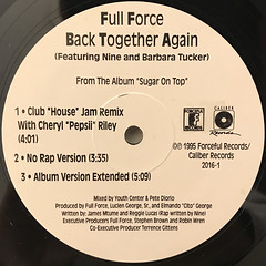 FULL FORCE:BACK TOGETHER AGAIN(LABEL SIDE-B)