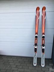 skialp. lyže 184cm+vázání Diamír+pásy - titulní fotka