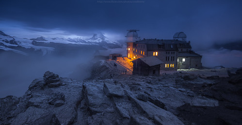 Morning view at Gornergrat