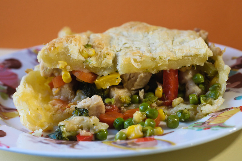 Chicken pot pie vegetarian recipe