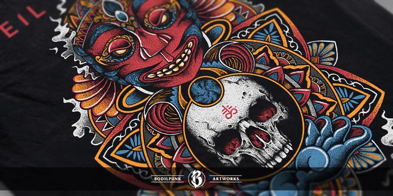Details - Mask of Anger