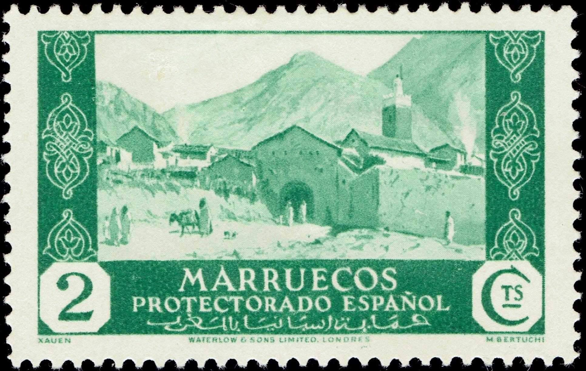 Spanish Morocco #145 (1935)