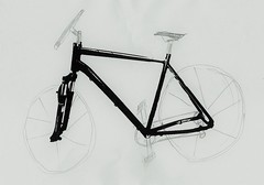Blueprint of my future bicycle