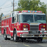 Demarest NJ Rescue Fire Truck, 2017 Northern Valley Fire Chiefs Parade, Northvale, New Jersey
