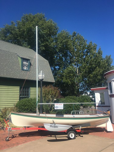 #5018 Whitehall Rowing/Sailing Dinghy