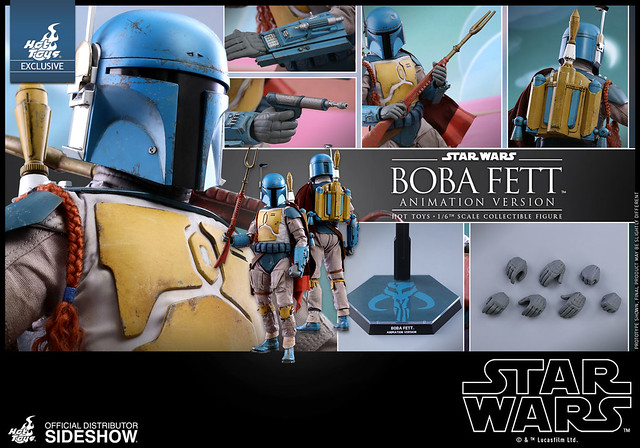 Sideshow Toys Boba Fett (Animation Version)