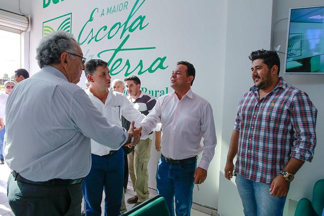 Presidente da CNA visita Sindicato Rural modelo para todo o Brasil