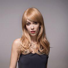 Remy Mono Human Blonde Hair Wig Side Bang Virgin Top Capless 8 Colors 59cm (1067256) #Banggood