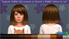 Simpliciaty Caulfield Hair Kids # Pooklet textures