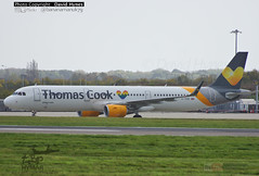 Thomas Cook G-TCDE Airbus A321 Rainbow Heart Storm Brian 21 Oct 2017