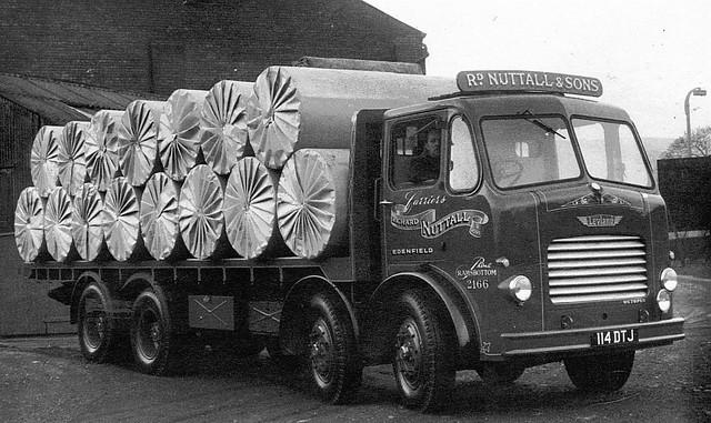 Richard Nuttall & Sons Ltd Leyland Octopus Reg No 114 DTJ